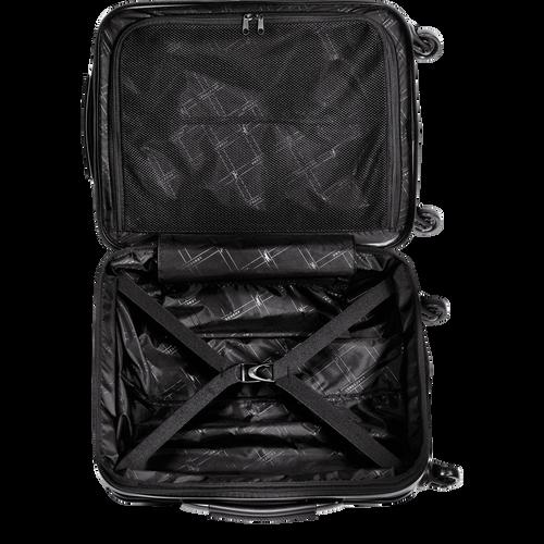 Koffer voor handbagage, Zwart/Ebbenhout - Weergave 3 van  3 -