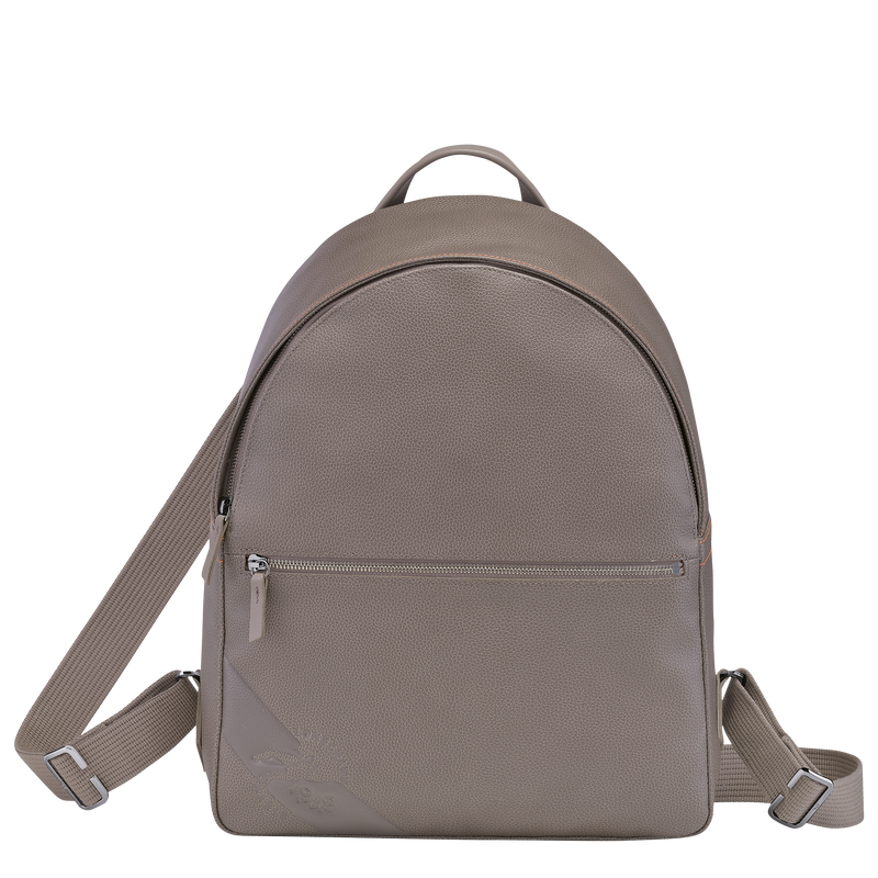 Le Foulonné Backpack, Taupe