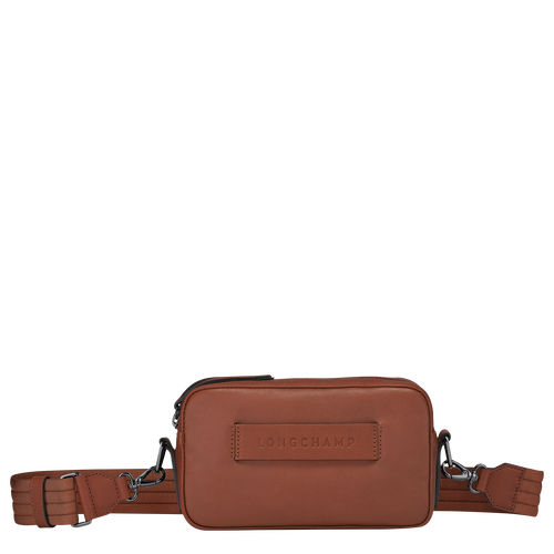 Sac porté travers Longchamp 3D Cognac (10098772504) | Longchamp FR