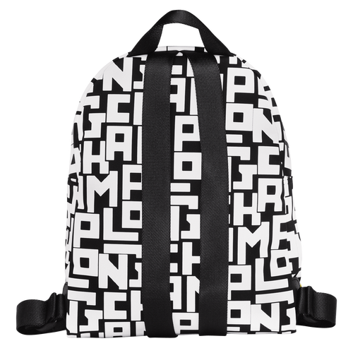 Backpack S, Black/White - View 3 of 4 -