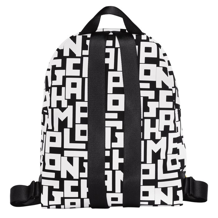 Backpack S, Black/White - View 3 of 4 - zoom in