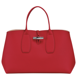 Top handle bag L, Red, hi-res