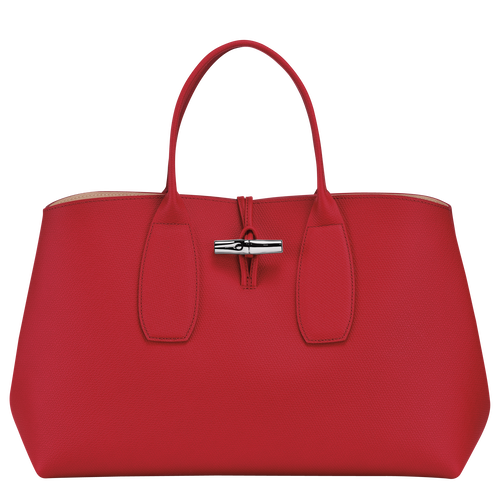 View 1 of Top handle bag L, Red, hi-res