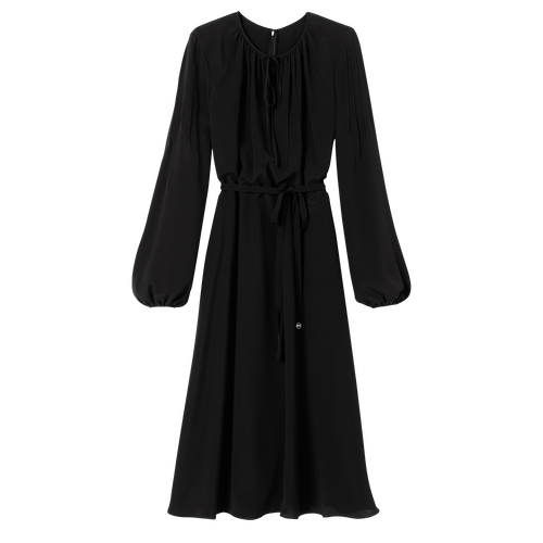 Midi dress, Black/Ebony - View 1 of  2 -