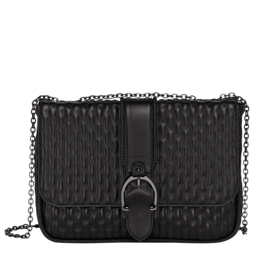 Crossbody bag L, Black/Ebony - View 1 of 3 -
