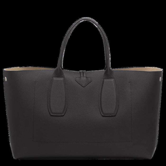 Top handle bag L, Black, hi-res - View 4 of 5