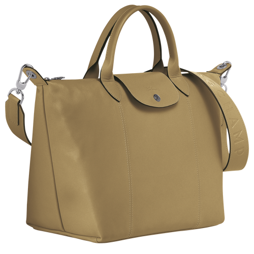 Top handle bag M, Khaki - View 2 of  3 -
