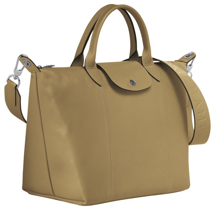 Top handle bag M, Khaki - View 2 of  3 - zoom in