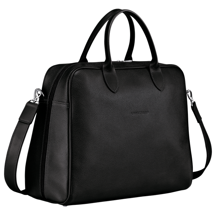 Briefcase L, Black - View 2 of 4 - zoom in