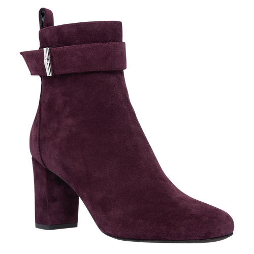 Ankle boots, Aubergine - View 2 of 2 -