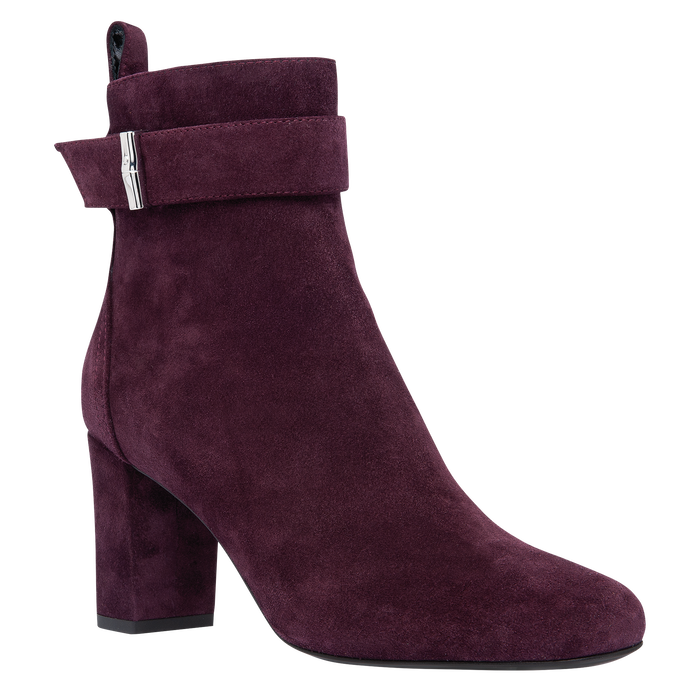 Ankle boots, Aubergine - View 2 of 2 - zoom in