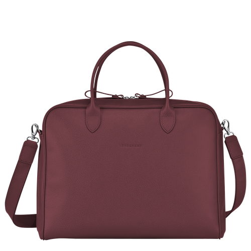Briefcase M, Mahogany - View 1 of 3 -