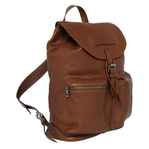 Backpack L, Cognac - View 2 of 3 -