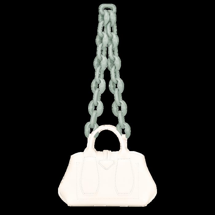 Roseau Top handle bag XS, Ecru