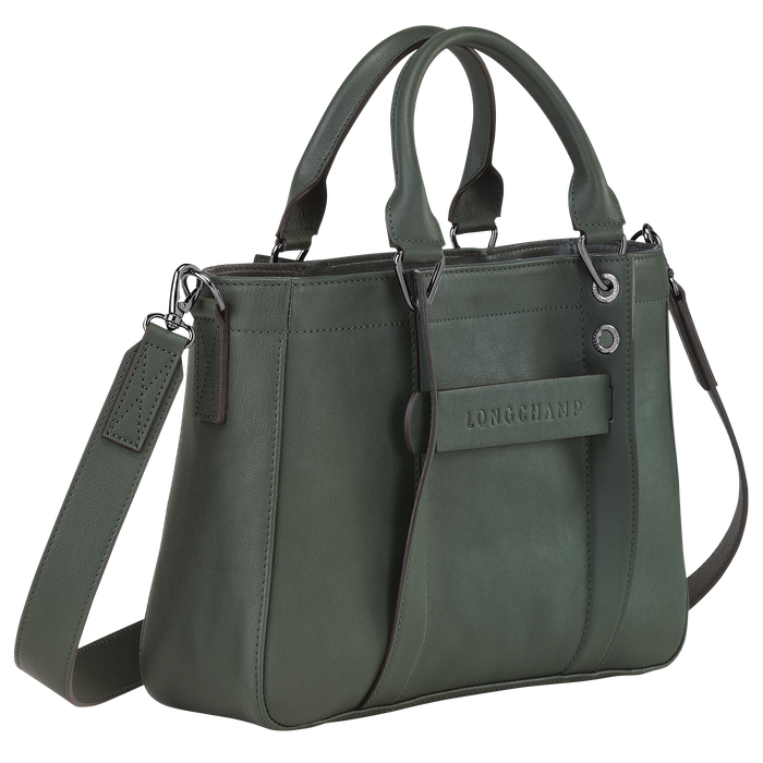 탑 핸들백 S, Longchamp Green - 2 이미지 보기 3 - 확대하기