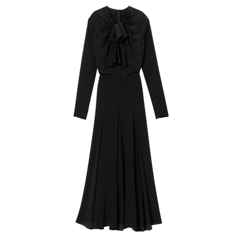 Robe longue, Noir/Ebène - Vue 1 de 1 -