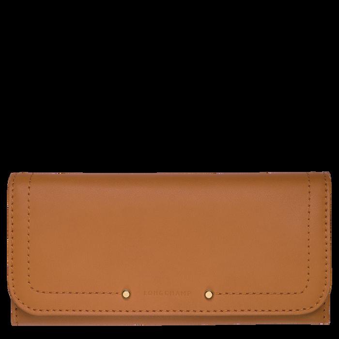 Cavalcade Long continental wallet, Natural