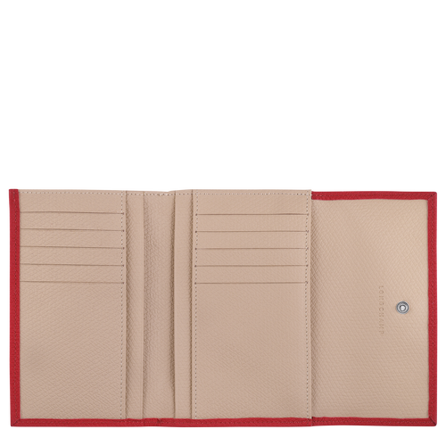 Roseau Portefeuille compact, Rouge