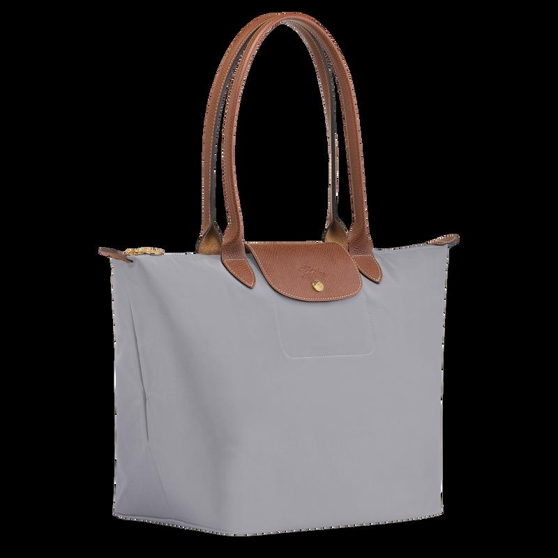 Shoulder bag L, Grey - View 2 of  5 - zoom in