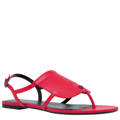 Flat sandals, Red - View 2 of  6 -