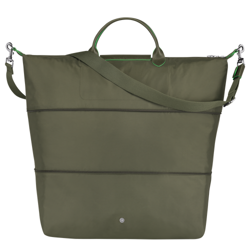 Travel bag, Longchamp Green - View 3 of 4 -