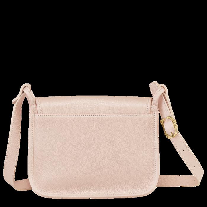 Le Foulonné Crossbody bag M, Pale pink