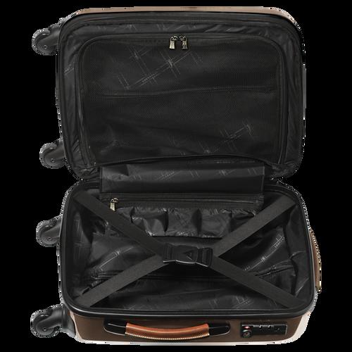 Koffer voor handbagage, Bruin - Weergave 3 van  3 -