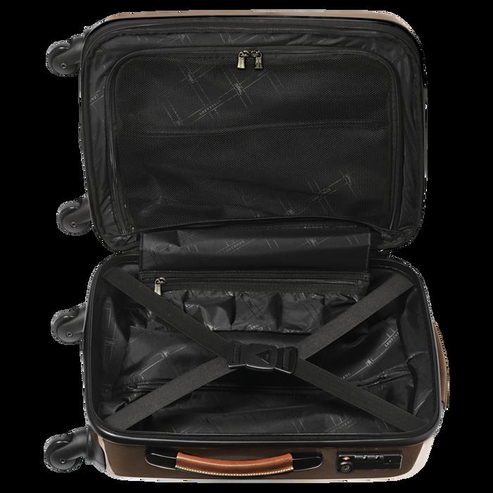 Koffer voor handbagage, Bruin - Weergave 3 van  3 - Meer inzoomen.