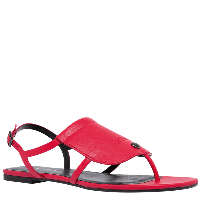 Flat sandals, Red - View 2 of  3.0 - zoom in