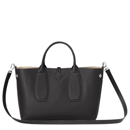 Top handle bag M, Black, hi-res - View 4 of 5