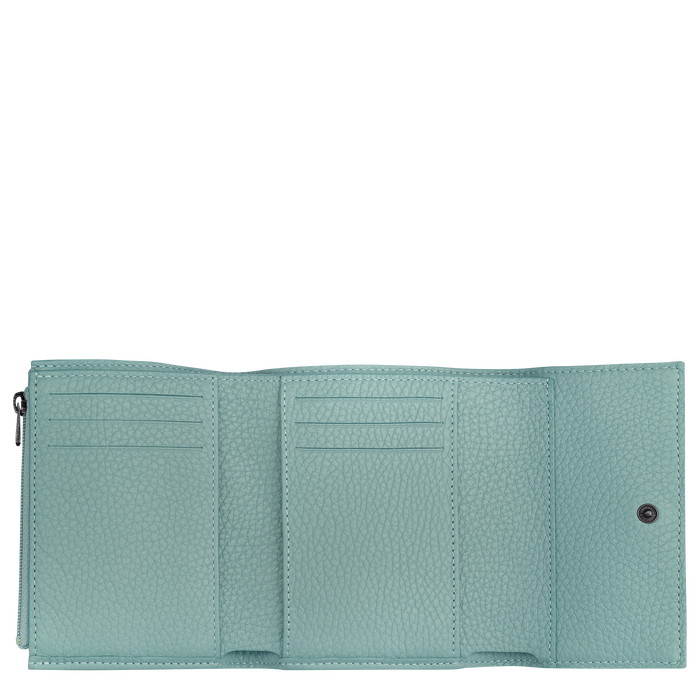 Compact wallet, Sage - View 2 of  2 - zoom in