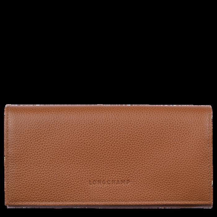 Long continental wallet Le Foulonné Caramel (L3146021F72) | Longchamp DK