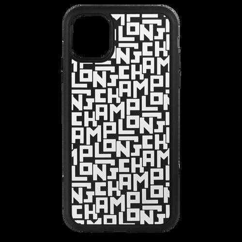 Le Pliage LGP Iphone 11 case, Black/White