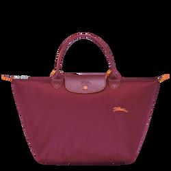 Top handle bag M, Garnet red