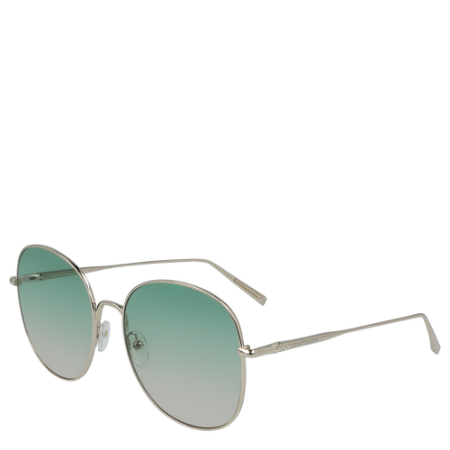 View 3 of Sunglasses, Gold Green, hi-res