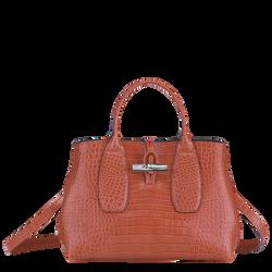 Top handle bag M, Coral