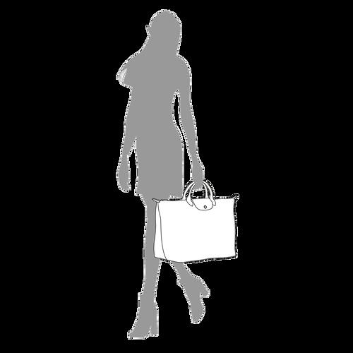 Bolsa de viaje L, Verde Longchamp - Vista 5 de 5 -