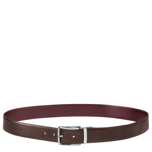 Men's belt, D70 Mocha/Burgundy, hi-res