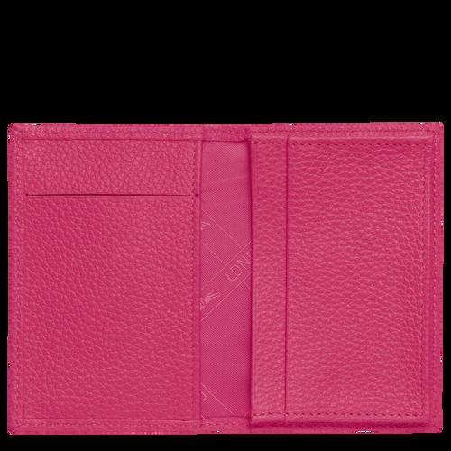 Porte-cartes, Rose/Argent - Vue 2 de 3 -