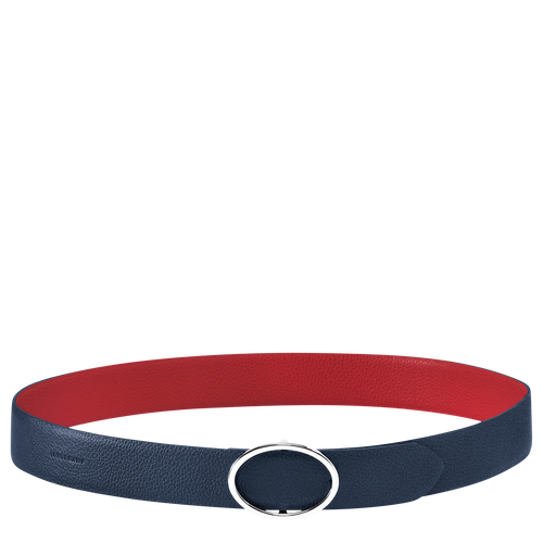 Women's belt, E24 Navy/Vermilion, hi-res
