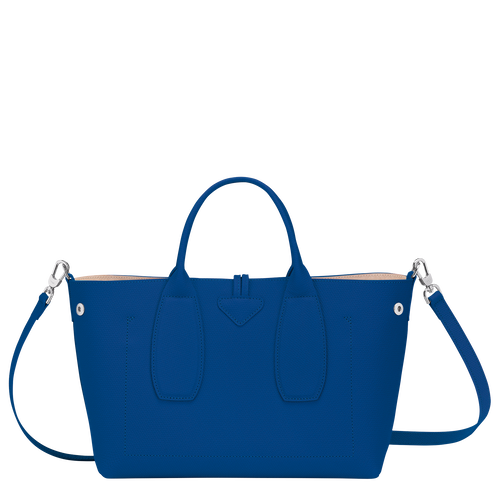 Top handle bag M, Blue - View 4 of  4 -