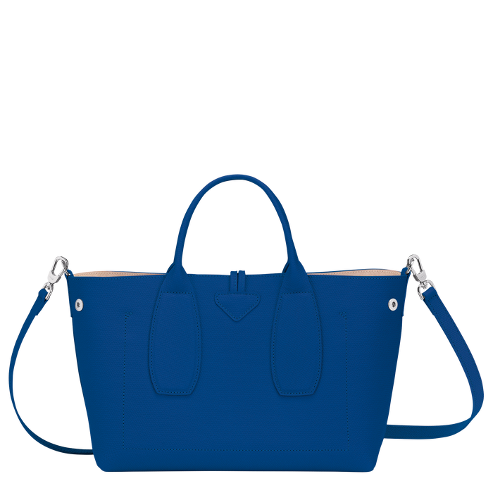 Top handle bag M, Blue - View 4 of  4 - zoom in