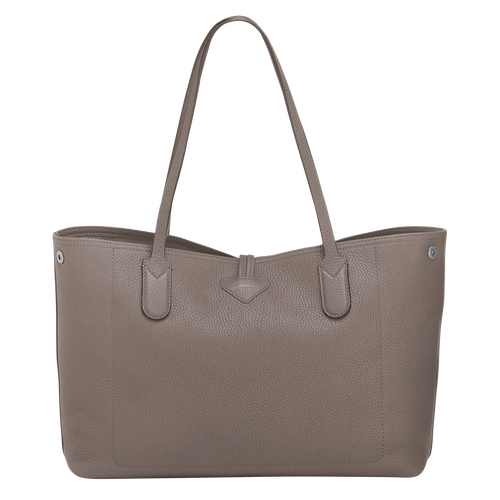 Sac shopping M, Gris, hi-res - Vue 3 de 3