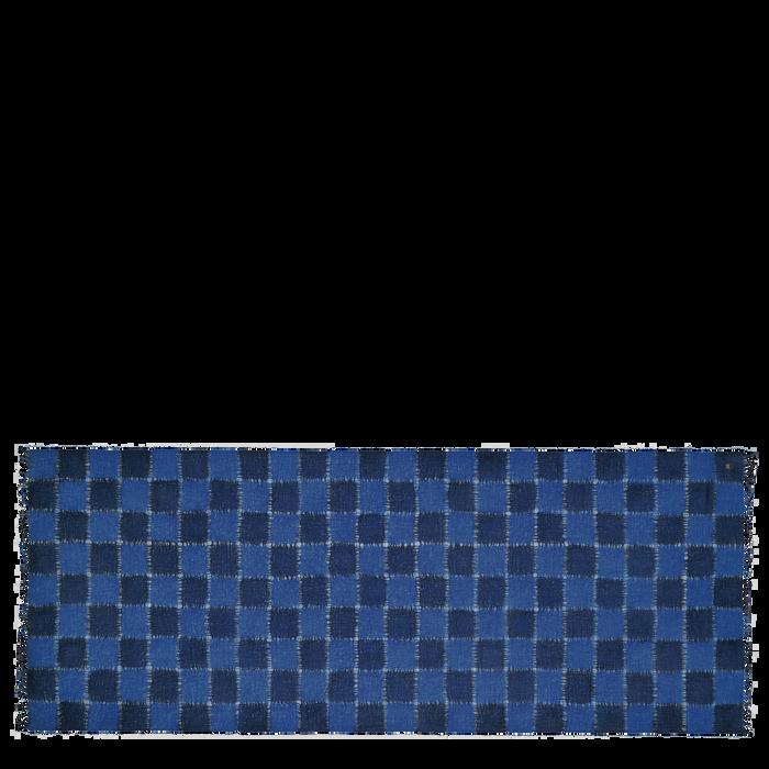 Colección otoño-invierno 2021 Estola de mujer, Azul marino
