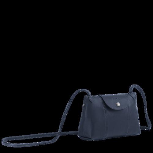 Crossbody bag Le Pliage Cuir Navy (L1061757556) | Longchamp US