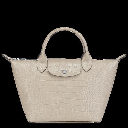 Top handle bag S Le Pliage Cuir Chalk (L1512HVC337) | Longchamp US