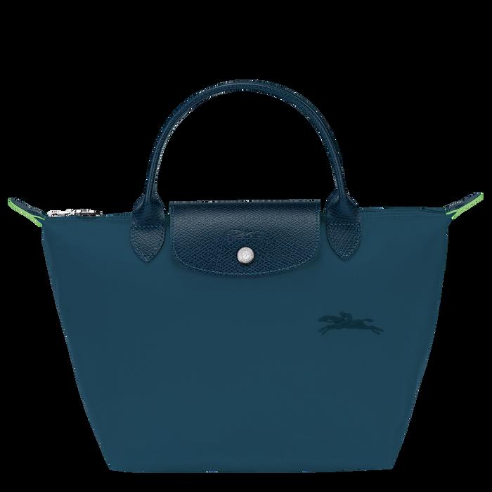 Le Pliage Green Top handle bag S, Ocean