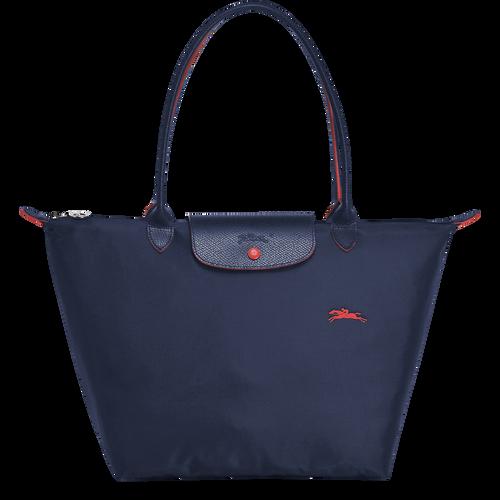 Shoulder bag L, Navy, hi-res - View 1 of 4
