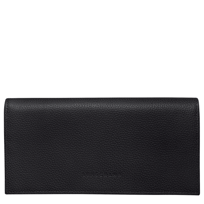 Long continental wallet, Black - View 1 of  2 - zoom in