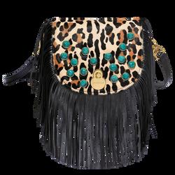 Crossbody bag, 640 Black/Camel, hi-res